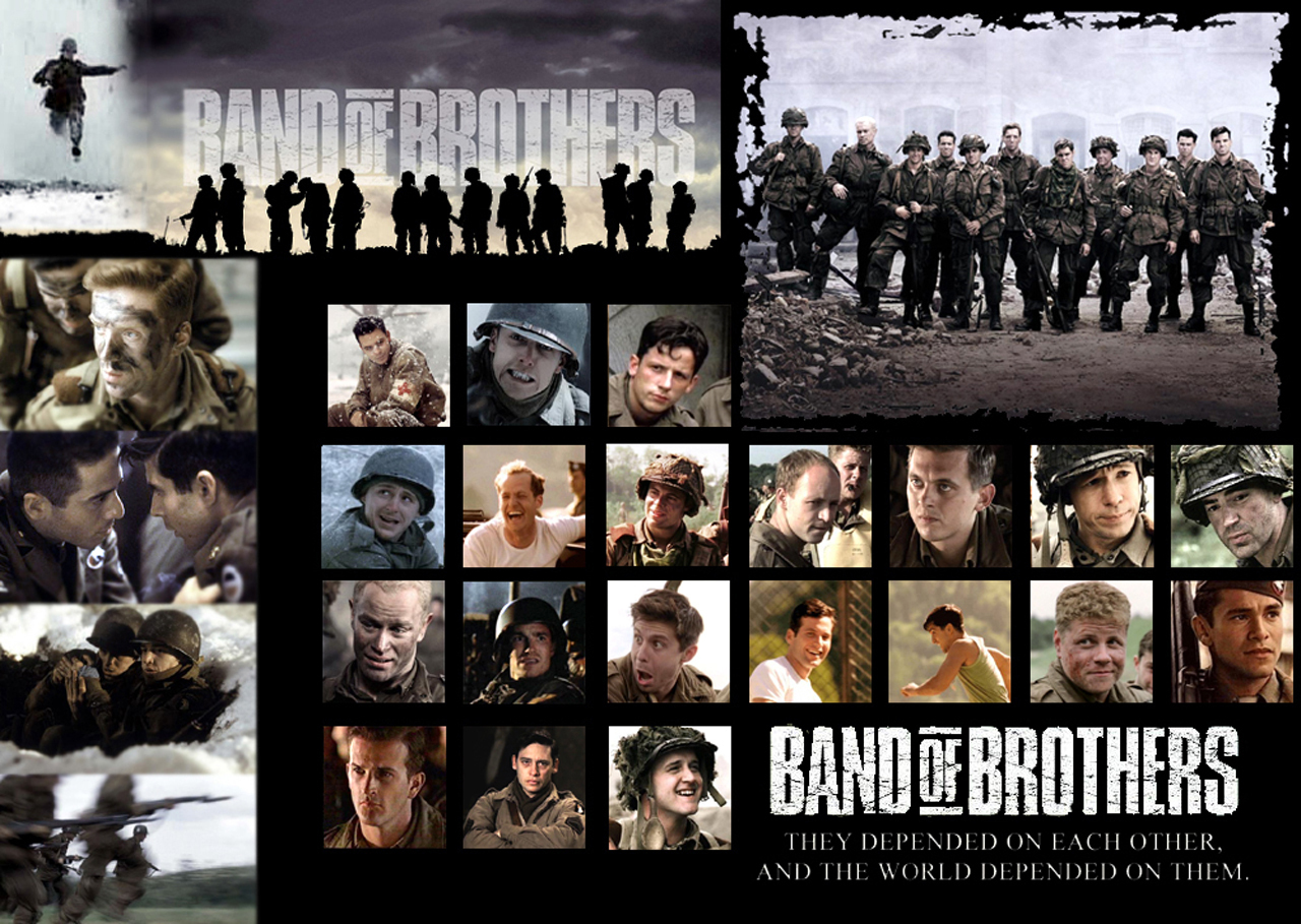band of brothers Band of brothers is a non-fiction historical account of the us army's easy company during world war ii a part of the elite 101st airborne division, easy company participated in the normandy d-day invasion and was the first group of allied troops to reach hitler's eagle's nest retreat in germany.