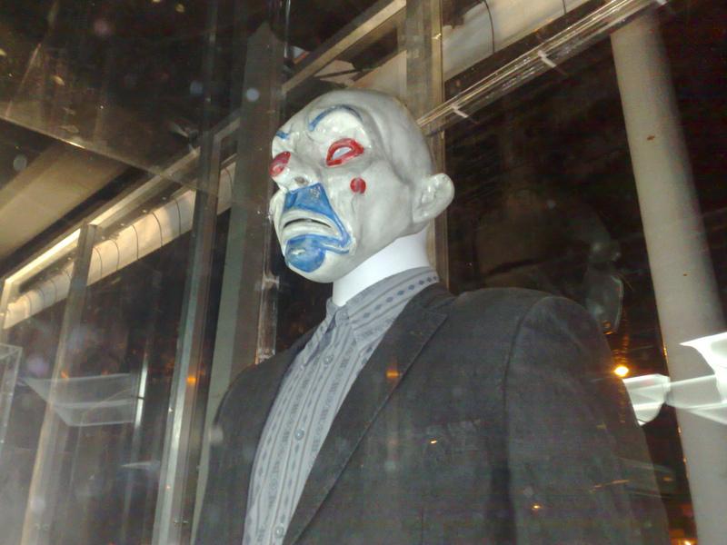 The Dark Knight Joker Bank Robber