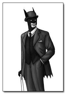 배트맨 Secret identity? Sherlock Holmes