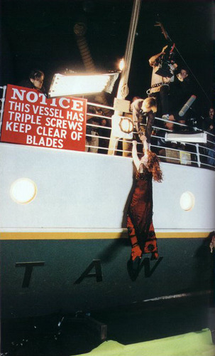 Titanic wallpaper titled Behind the scenes