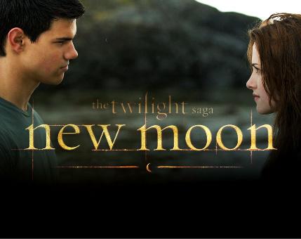 Bella & Jacob New Moon Promo Poster