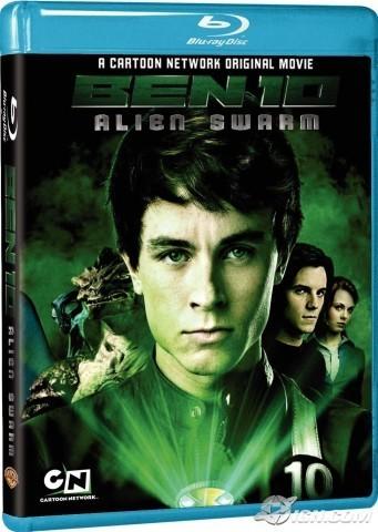 Ben 10 AlienSwarm Blu-Ray