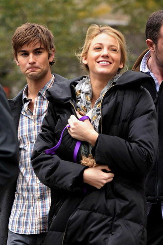 Blake Lively & Chace Crawford Brake for Coffee