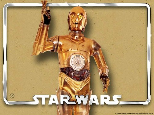 Star Wars wallpaper entitled C-3PO