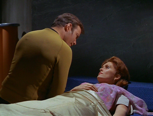 Captain Kirk in ''Τurnabout Intruder''