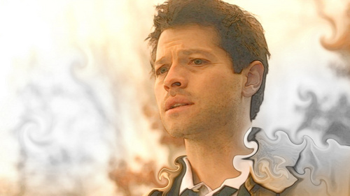 Castiel wallpaper possibly containing a portrait titled Castiel*