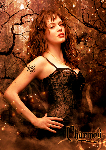 Charmed wallpaper with a bustier titled Charmed