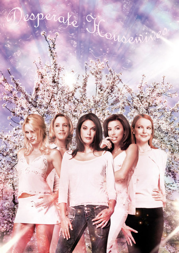 Desperate Housewives wallpaper possibly containing a bridesmaid titled Desperate Housewives