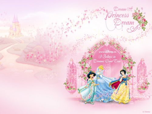 Disney Princess achtergrond entitled Disney Princesses