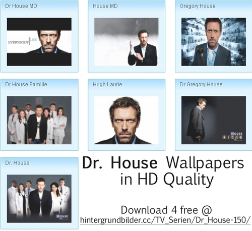 Dr. House wallpaper