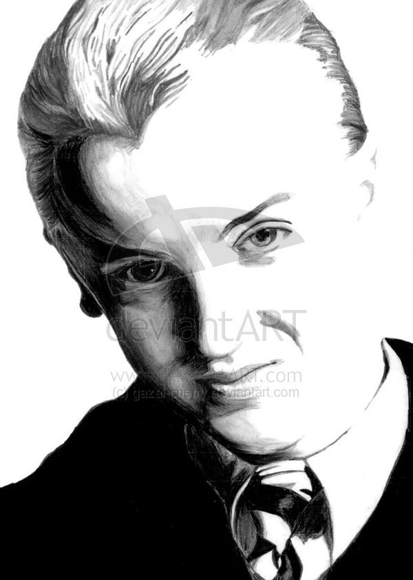 Draco Malfoy Colouring Pages Master Coloring Pages