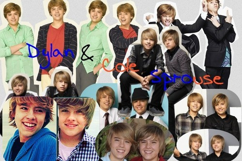 The Sprouse Brothers wallpaper called Dylan and Cole Blend