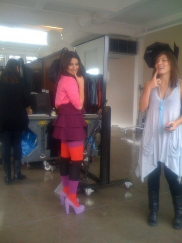 EW Photoshoot - Behind the Scenes - Lea