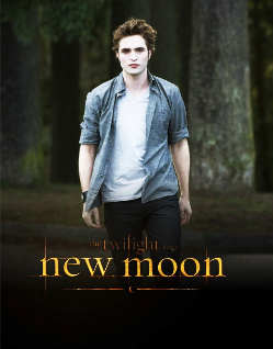 Edward New Moon Promo Poster