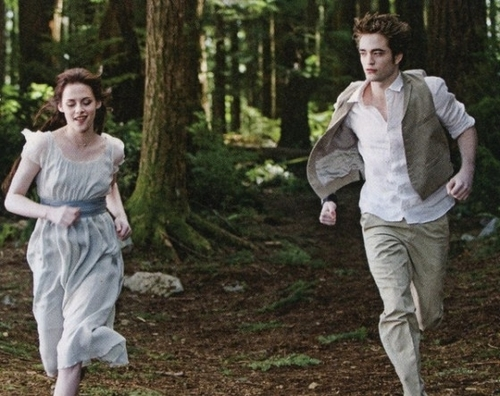 Edward and Bella / Robert and Kristen