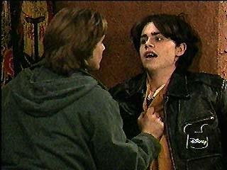 Eric Threatens a Vampire Shawn