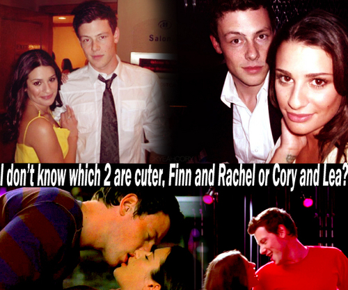 Finn and Rachel all the way <3