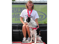 Ginsey St.Croix and Star win the Purina Incredible Dog Challenge 2009 - dog-agility photo