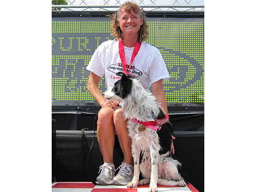 Ginsey St.Croix and звезда win the Purina Incredible Dog Challenge 2009