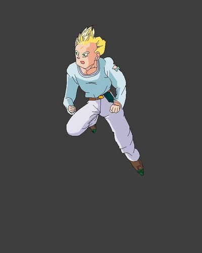 Dragon Ball Z wallpaper probably with a ballplayer, a fielder, and a right fielder entitled Goten Teen SSJ