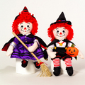 Halloween Raggedy Ann and Andy