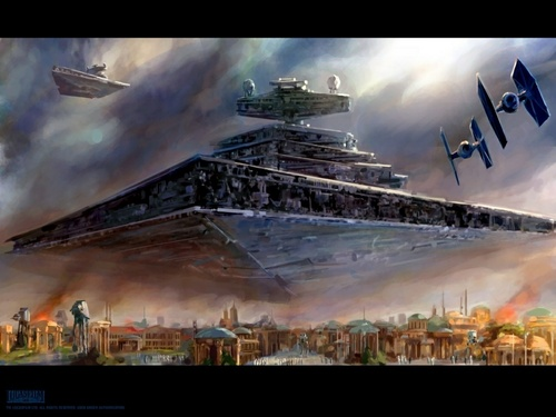 Invasion of the Empire - star-wars Fan Art