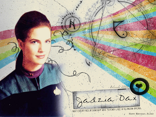 Jadzia Dax ''DS-9'' étoile, star trek