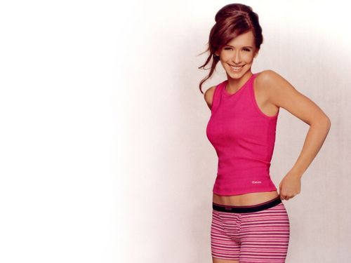 Jennifer Love Hewitt wallpaper with a playsuit and tights entitled Jennifer Love Hewitt
