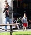 Jon Gosselin Playing With His Kids