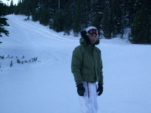 Keith ENjoying Some Snowboarding Time Off From Touring
