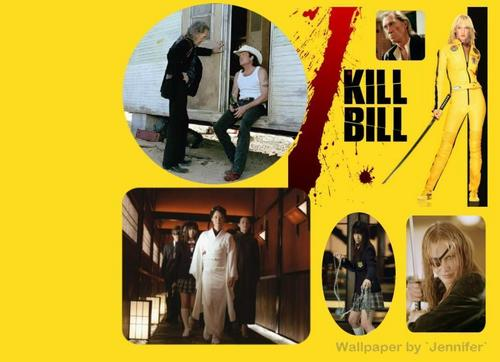 Kill Bill wallpaper probably with a street and a sign called Kill Bill