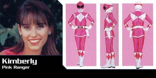 Mighty Morphin Power Rangers wallpaper called Kimberly