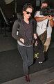 Kristen at LAX Airport - twilight-series photo