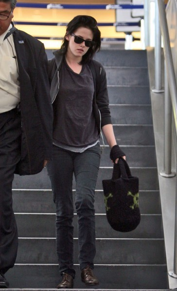 Kristen at LAX airport
