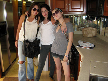 Kristen with Nikki in private moments