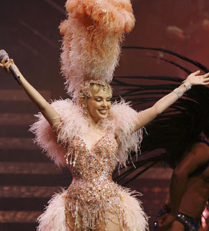 Kylie Show The Homecoming Tour Minogue Foto