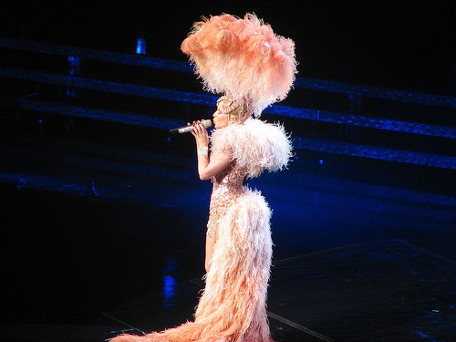 Kylie Show The Homecoming Tour Minogue Photo