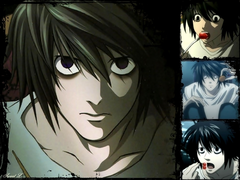 wallpaper death note. L Wallpapers - Death Note