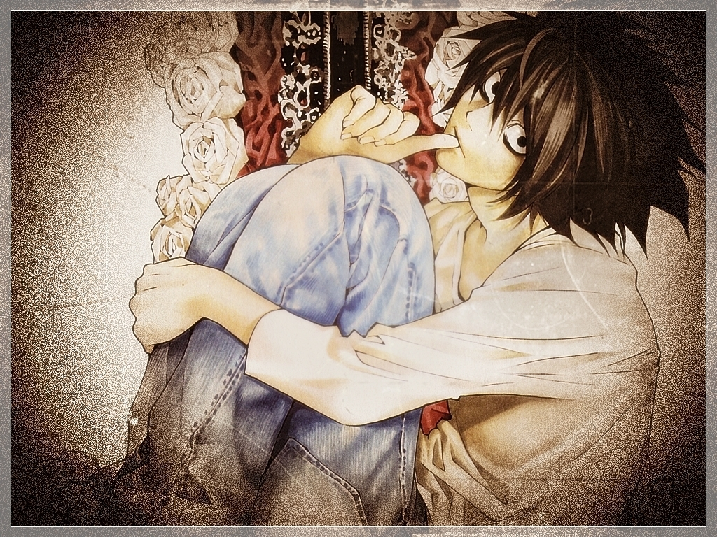 L Wallpapers - Death Note Wallpaper (8618243) - Fanpop