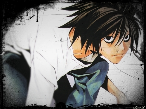 L Wallpapers - death-note Wallpaper