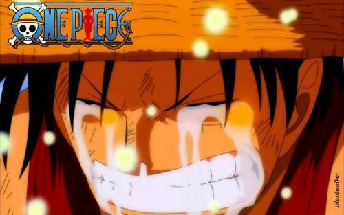 Luffy Crying