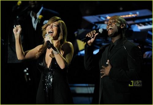Mariah @ Michael Jackson Memorial Service