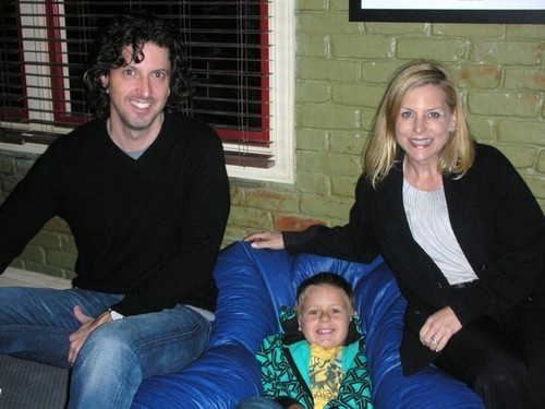 Mark Schwahn, Jackson Brundage and Dawn Ostroff