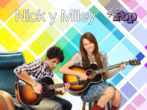 Miley and Nick !!!!!!!!!!!!