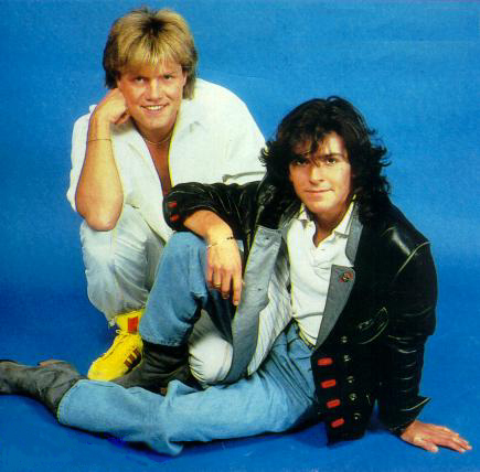 Modern Talking wallpaper titled Modern Talking (Thomas Anders / Dieter Bohlen)