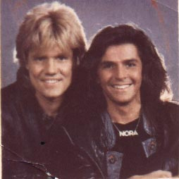 Modern Talking Hintergrund containing a portrait called Modern Talking (Thomas Anders / Dieter Bohlen)
