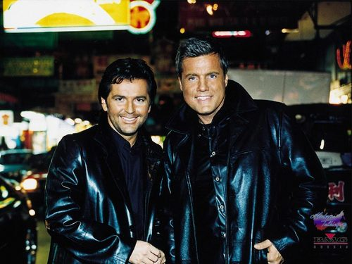 Modern Talking achtergrond called Modern Talking