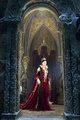 Monica Bellucci as the Mirror queen