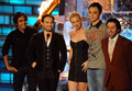 More photos of BBT cast at Spike TV's Scream 2009 Awards (10.17.09) - jim-parsons-and-kaley-cuoco photo