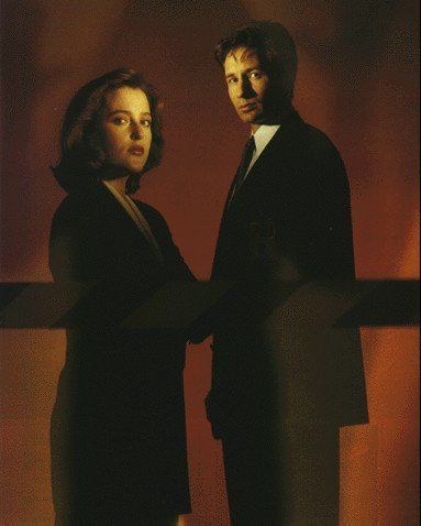 Mulder and Scully Promo প্রতিমূর্তি